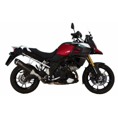 DL1000 V-Strom 14-16 LeoVince Nero slip-on