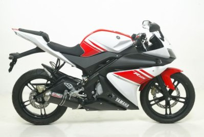 YZF-R125 08-13 Giannelli Ipersport black full system