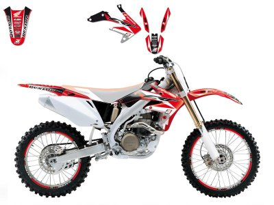 Tarrasarja CRF450R 05-08 Dream 3
