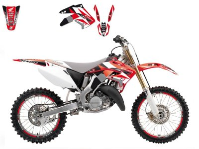 Tarrasarja CR125/CR250 02-07 Dream 3