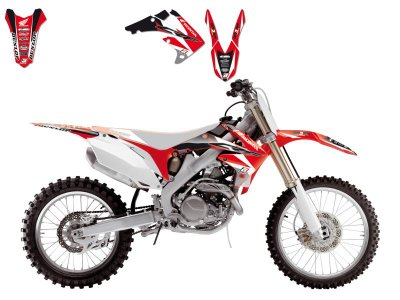 Tarrasarja CRF250R 10-13, CRF450R 09-12 Dream 3