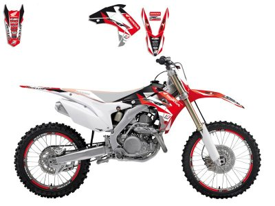 Tarrasarja CRF250R 14-17, CRF450R 13-16 Blackbird Dream 3