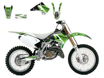 Tarrasarja KX125/KX250 03-08 Dream 3