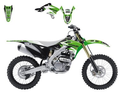 Tarrasarja KX250F 13-16 Blackbird Dream 3