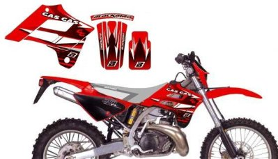 Dream Kit EC125-450FSE 02-06 punainen