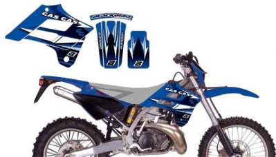 Dream Kit EC125-450FSE 02-06 sininen