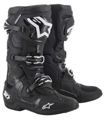 Crossisaappaat Alpinestars Tech 10 musta 2019