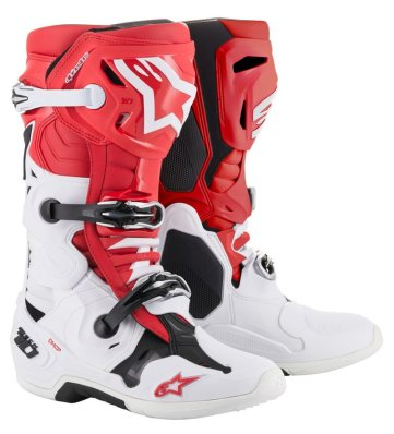 Crossisaappaat Alpinestars Tech 10 pun/valk/musta 2019