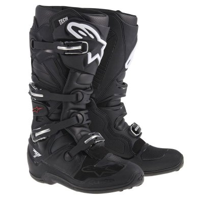 Crossisaappaat Alpinestars Tech 7 musta