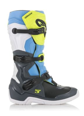 Crossisaappaat Alpinestars Tech 3 fl.kelt/valk/sin