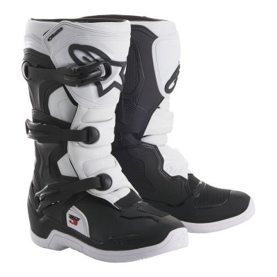 Crossisaappaat Alpinestars Tech 3S Junior musta/valk