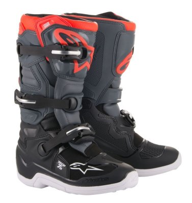 Crossisaappaat Alpinestars Tech 7S Junior musta/harm/pun