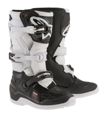 Crossisaappaat Alpinestars Tech 7S Junior musta/valk