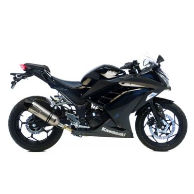 Ninja/Z 250/300 13-16 LeoVince LV One EVO slip-on