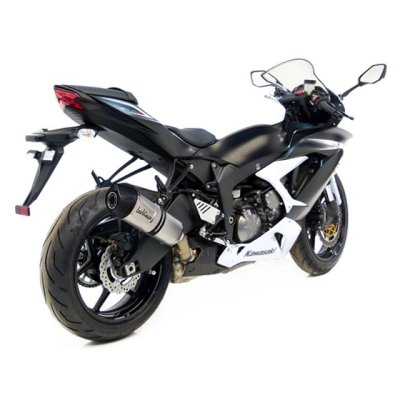 ZX-6R 09-17 LeoVince LV One EVO slip-on
