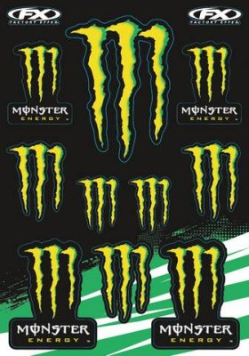 Tarra-arkki Monster Energy Kit
