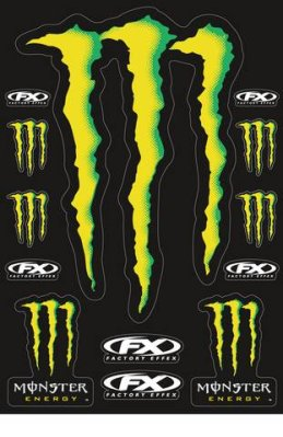 Tarra-arkki Monster Energy Kit XL