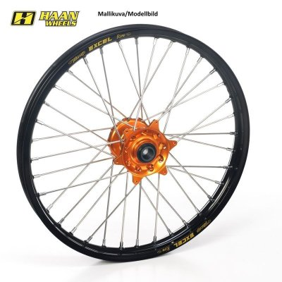 "Etuvanne 85SX 12->, TC85 14-> 19-1,40"" Haan Wheels"