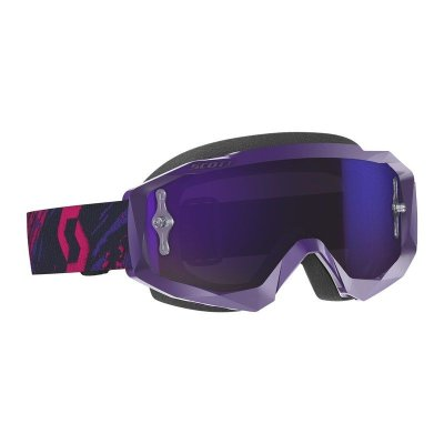 Ajolasit Scott Hustle X MX violetti/pinkki, Works