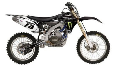 Monster Energy Kit YZ125/YZ250 02-14